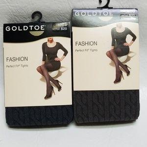 GoldToe woman Fashion Perfect Fit tights A/B C D